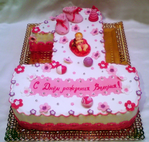 Торт на заказ к дню рождения ребенка с фото красноярск