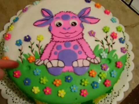 Как сделать детский торт дома видео