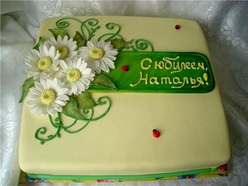 Оформление тортов на заказ для маленьких фото