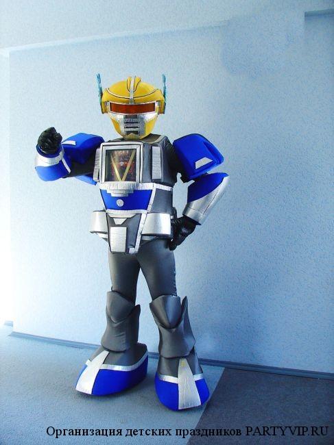 Костюм робота трансформера своими руками для мальчика