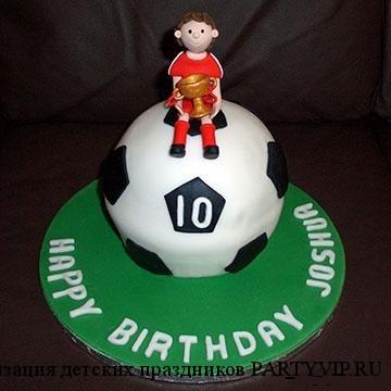 детские торты на футбольную тематику фото смотреть