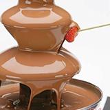 Шоколадный фонтан на детский праздник