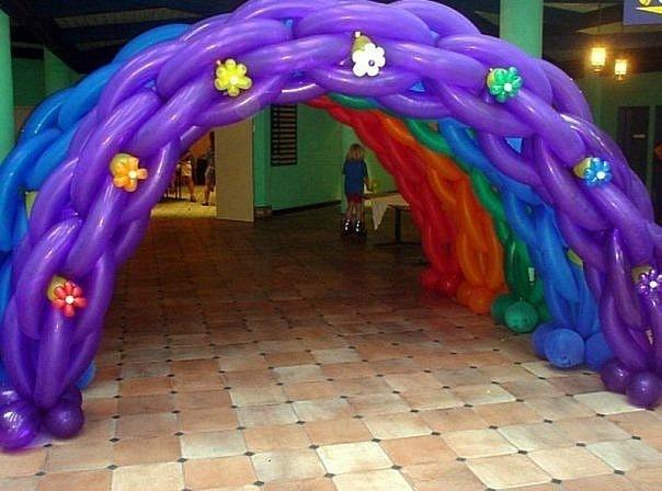 Как украсить арку в детском саду своими руками 5