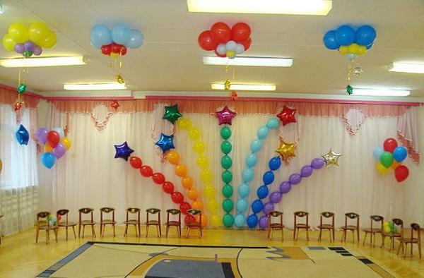 Воздушные шары оформление праздников своими руками