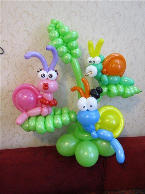 Игрушки из воздушных шаров своими руками мастер класс видео