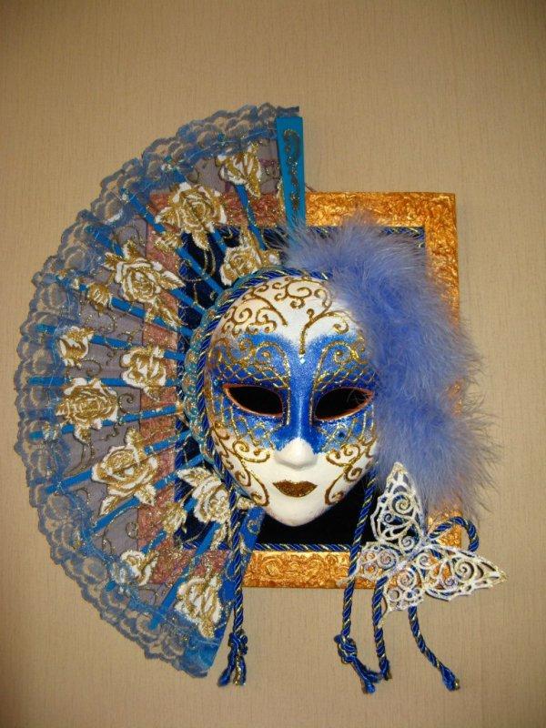 Декоративные маски своими руками