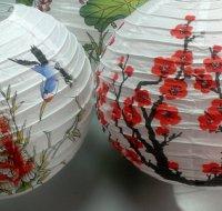 Роспись китайских фонариков