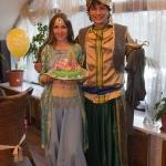 День рождение Алладином и Жасмин