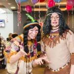 День рождение с индейцами