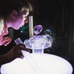 День рождения с мыльными пузырями