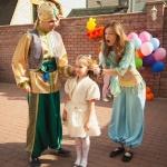 Алладин и Жасмин на детском празднике