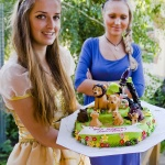 Детский праздник с Золушкой и Русалочкой