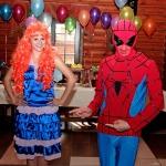Детский праздник с Человеком Пауком и Феей Винкс