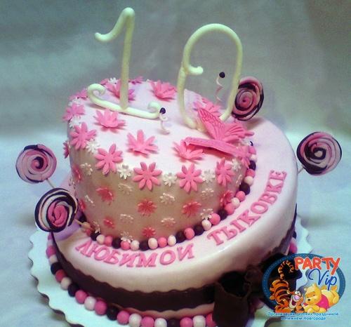 Торты на день рождения для девочек 10 лет