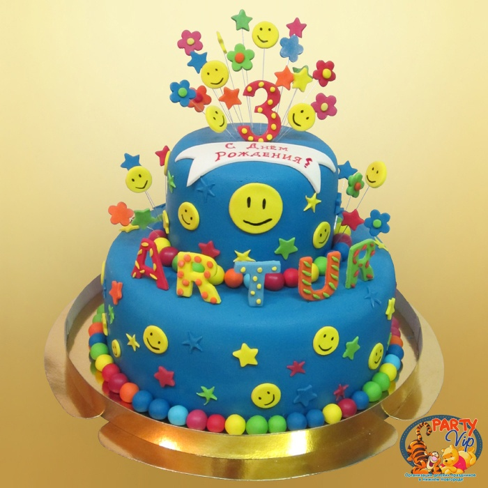 Детские фото торты