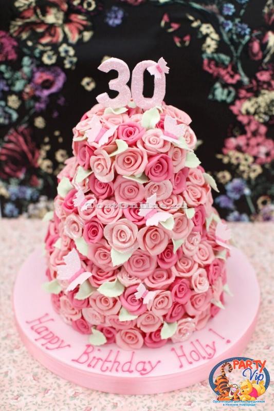 Фото торт на 30 лет
