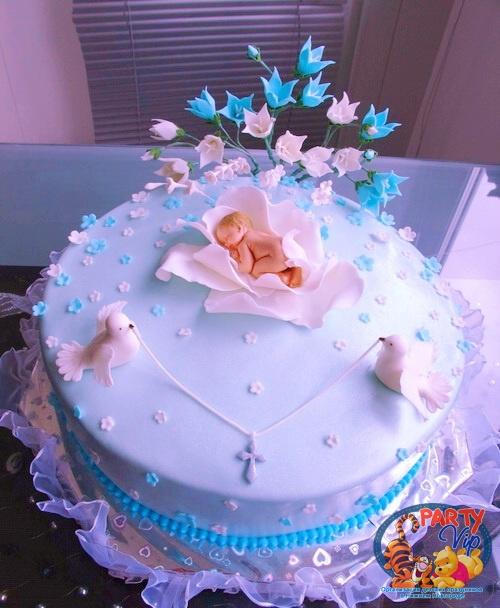 торт на крестины мальчика своими руками рецепт