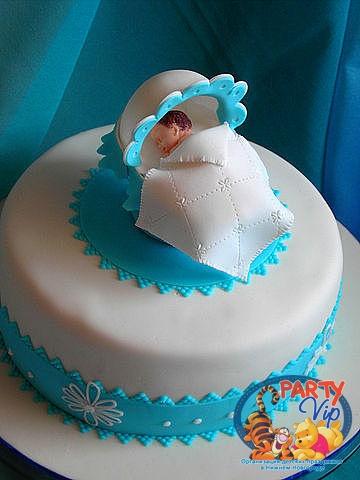 Торт на рождение малыша фото