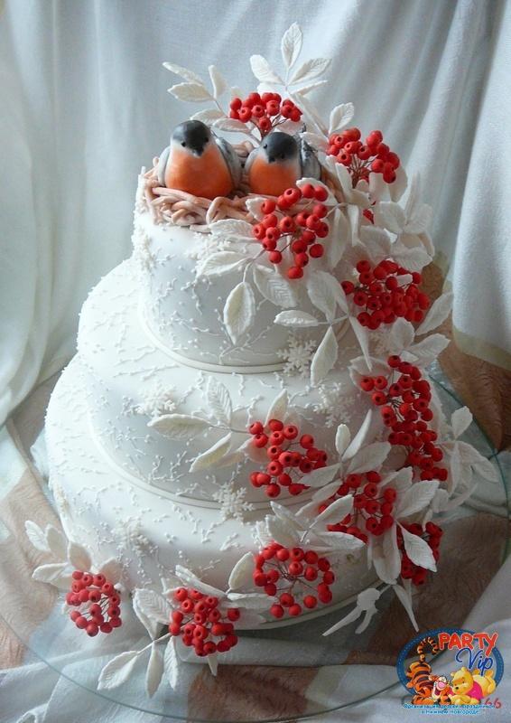 Торт рябина фото